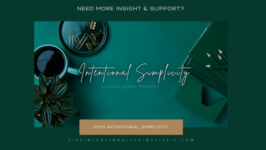 Join Intentional Simplicity LLC